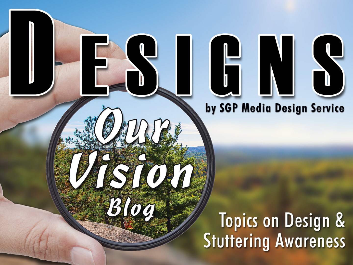 Blog header designs our vision