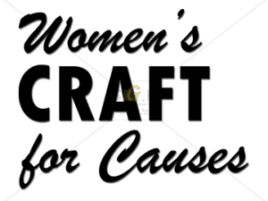 cmcn black and white women's ministry women's craft for causes logo