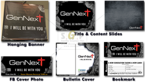 cmcn coloful gennext message series advertisement