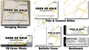 cmcn colorful good as gold message series advertisement