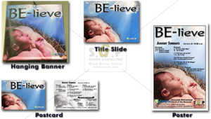 cmcn colorful be-lieve (advent) message series advertisement