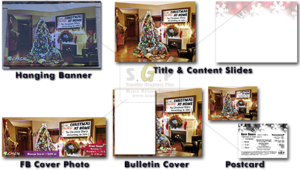 cmcn colorful Christmas at home (advent) message series advertisement