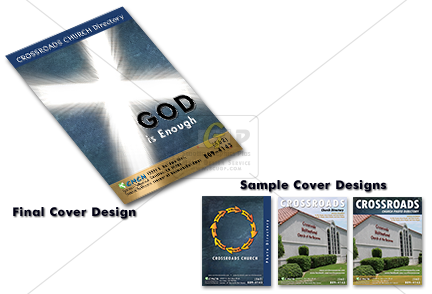 cmcn church colorful directory cover and samples
