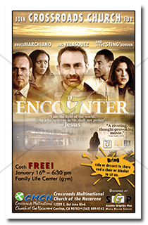 cmcn colorful- encounter movie night event poster advertisement