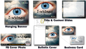 cmcn colorful I-witness message series advertisement
