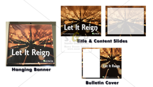 cmcn colorful let it reign message series advertisement