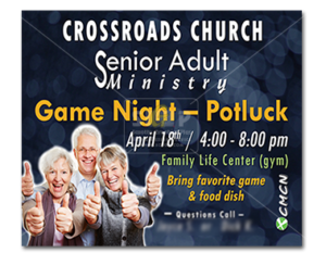 cmcn-colorful senior adult ministry game night event slide advertisement