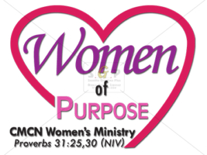 cmcn colorful women's ministry women of purpose logo