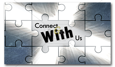 cmcn connect with us frontside business card advertisement
