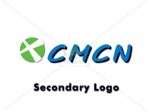 cmcn secondary logo in color with blue text