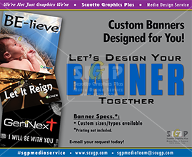 colorful banner samples for advertisement