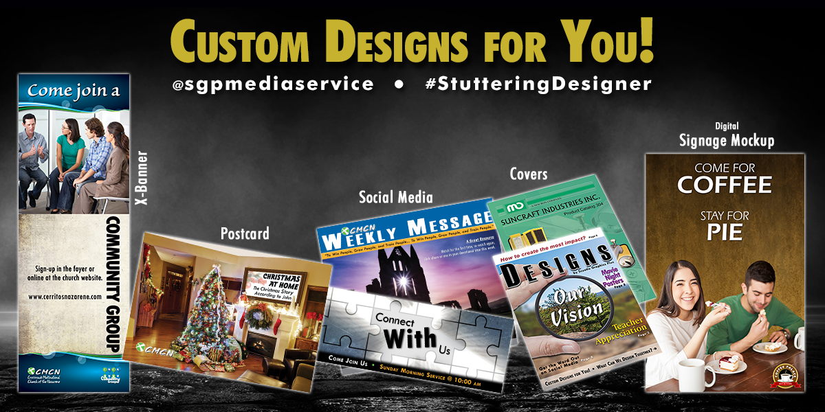 We offer custom designs to our clients